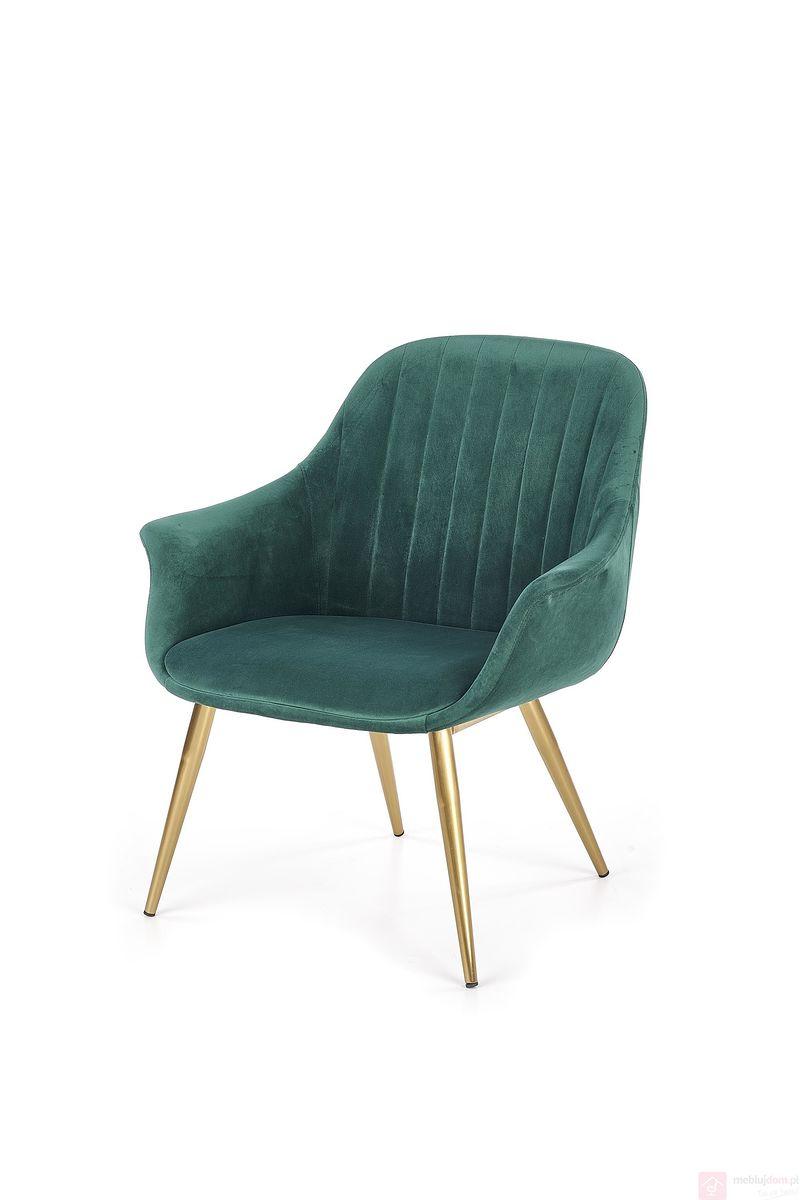 Fotel ELEGANCE Halmar zielony