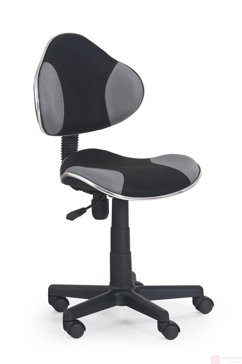 Fotel obrotowy FLASH Halmar Czarno-szary