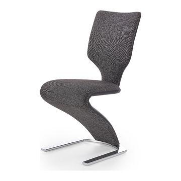Krzesło K-307 Halmar Ciemny szary