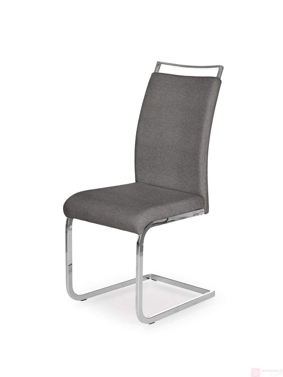 Krzesło K-348 Halmar popielaty
