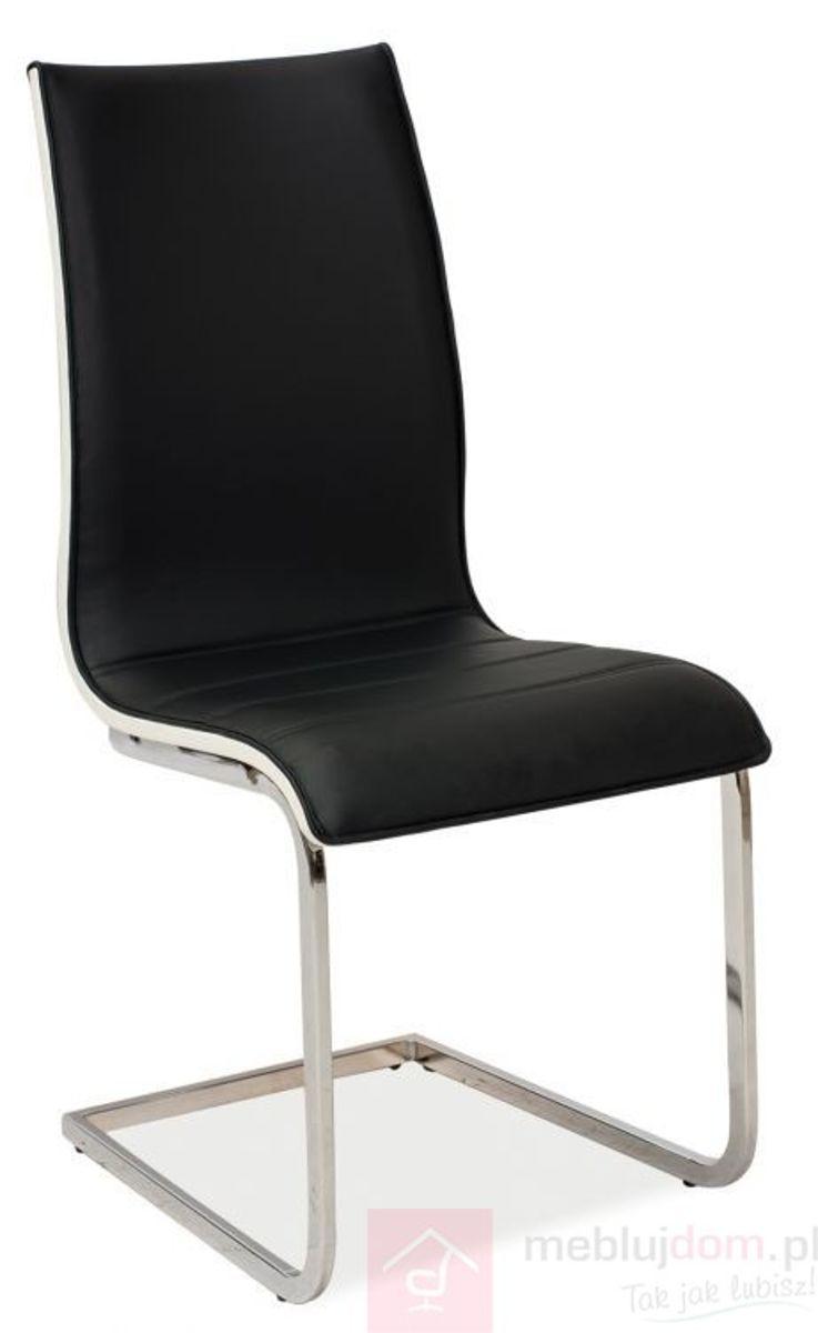 Krzesło H-133 Signal Czarny, Biały