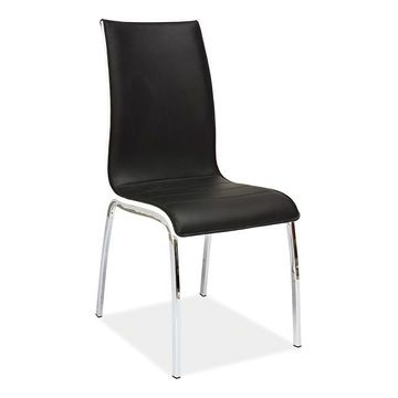 Krzesło H-135 Signal Czarny, Biały