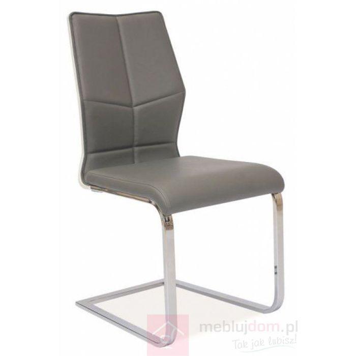 Krzesło H-422 Signal Szary, Biały