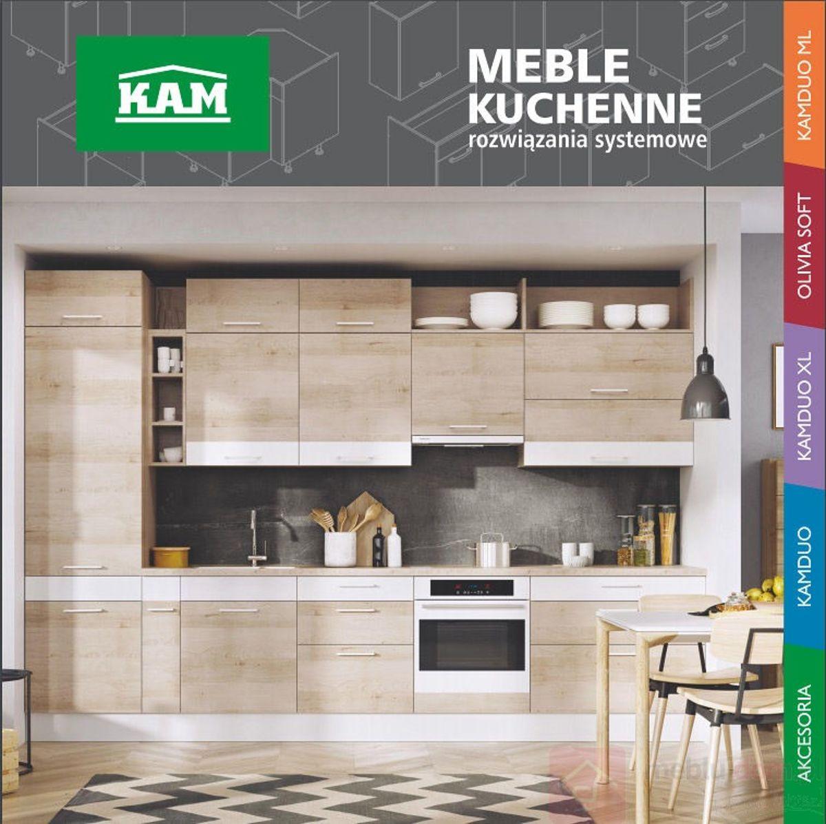 Katalog PDF Kuchnie KAM Meble