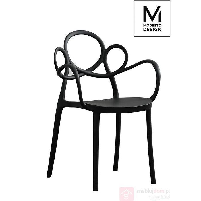 Krzesło LOOPY z podłokietnikami