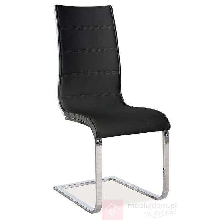 Krzesło H-668 Signal Czarny, Biały