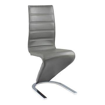 Krzesło H-669 Signal Szary, Biały