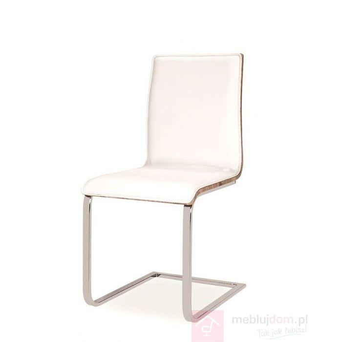 Krzesło H-690 Signal Biały, Dąb sonoma