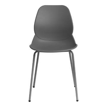 Krzesło LAYER 4 szare przodem
