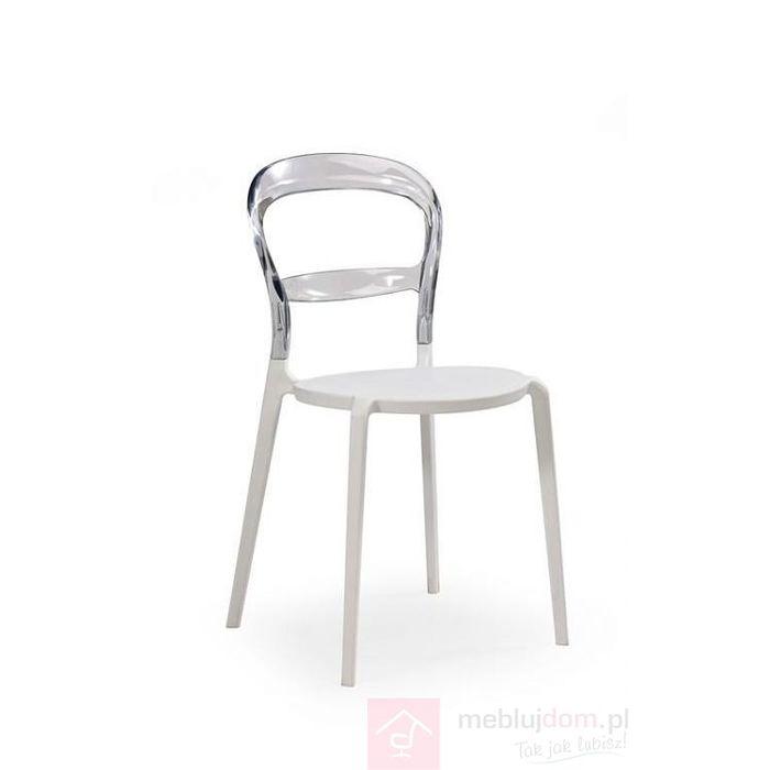 Krzesło K-100 Halmar Biały