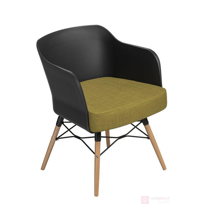 Krzesło VIVA poduszka oliwkowa