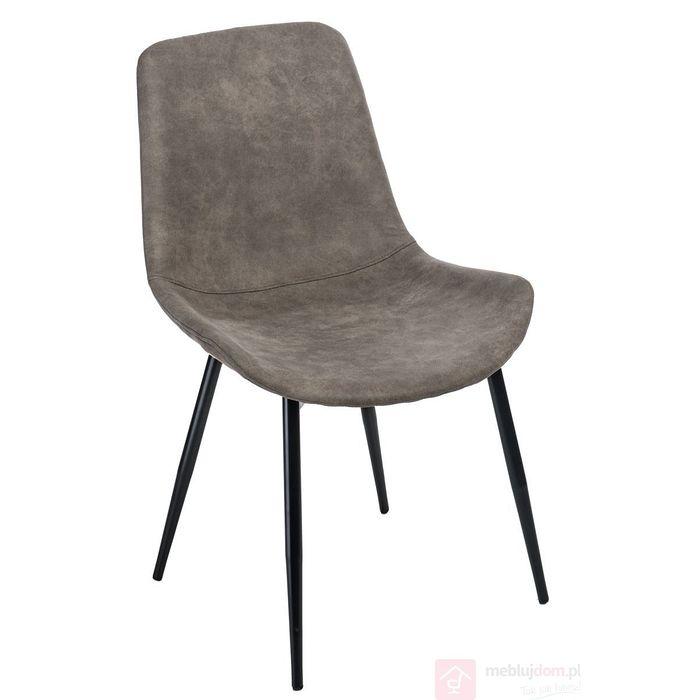 Krzesło YOKO brązowe przodem