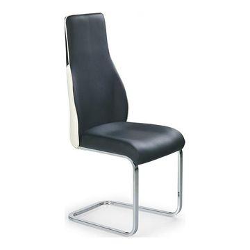 Krzesło K-141 Halmar Czarno-biały