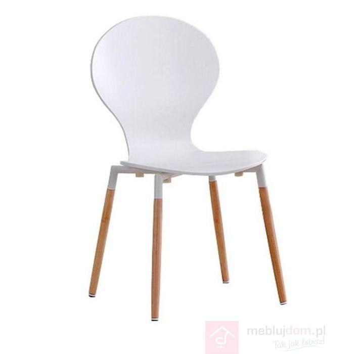 Krzesło K-164 Halmar Biały