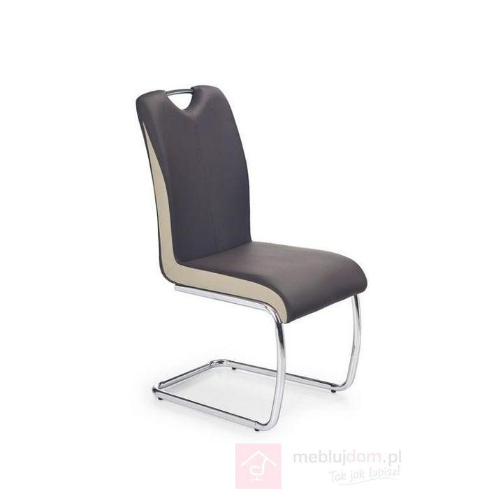 Krzesło K-184 Halmar Brąz ciemny