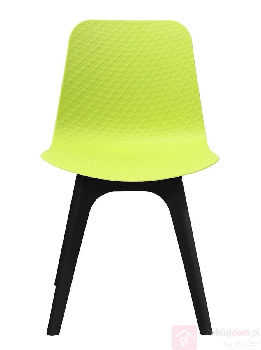 Krzesło KRADO DSX PREMIUM zielony + czarny frontem