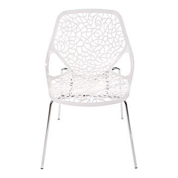 Krzesło CEPELIA biały frontem