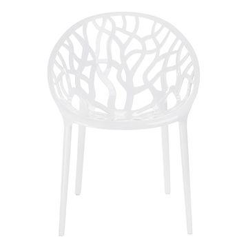 Krzesło CORAL biały