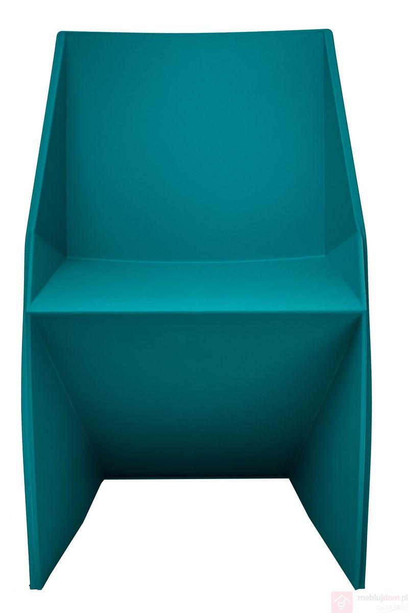 Krzesło FLATO niebieskie