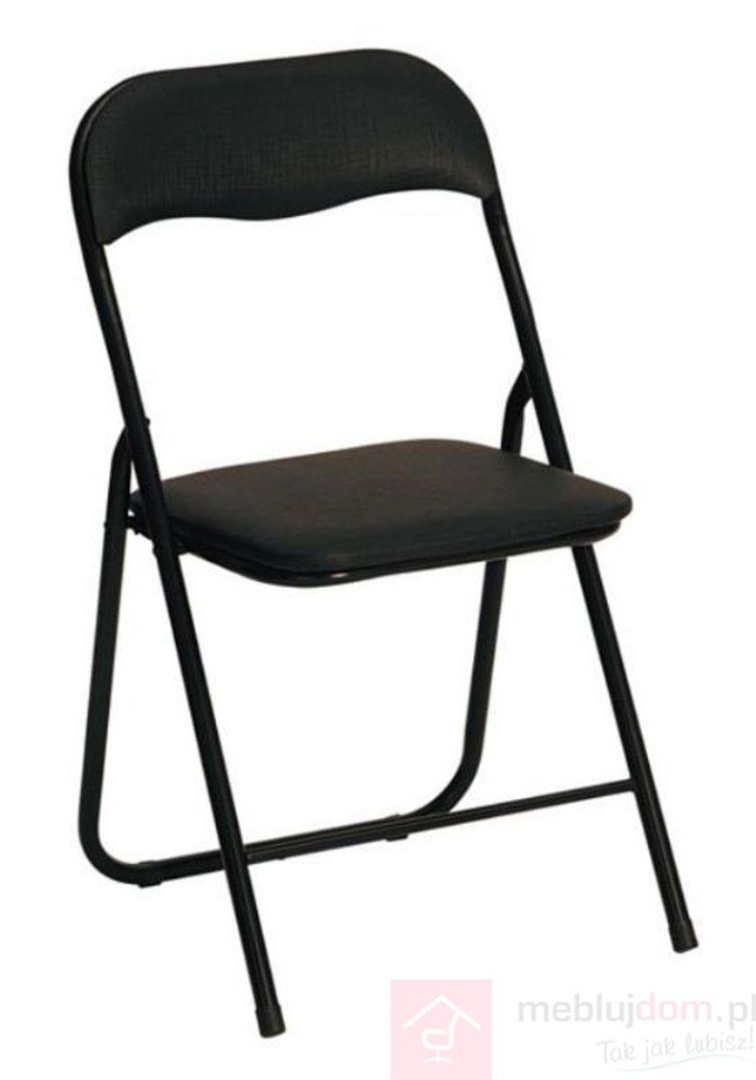 Krzesło K-5 Halmar Czarny