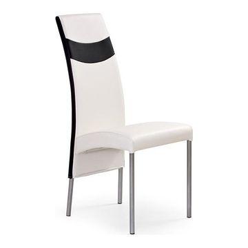 Krzesło K-51 Halmar Biały + czarny