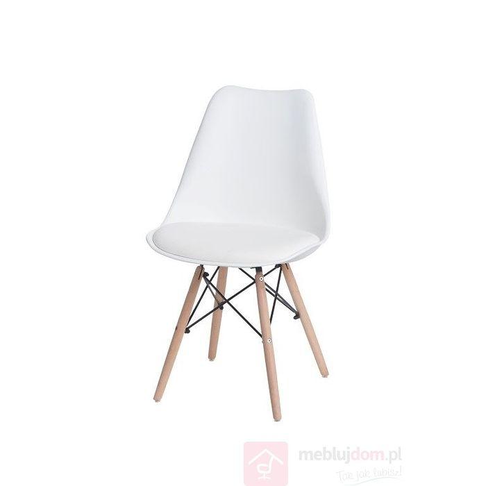 Krzesło NORDEN DSW biały