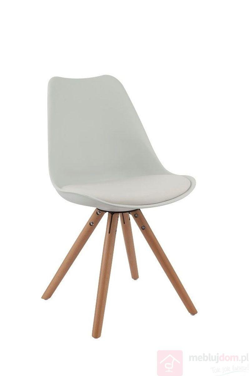 Krzesło NORDEN STAR biały