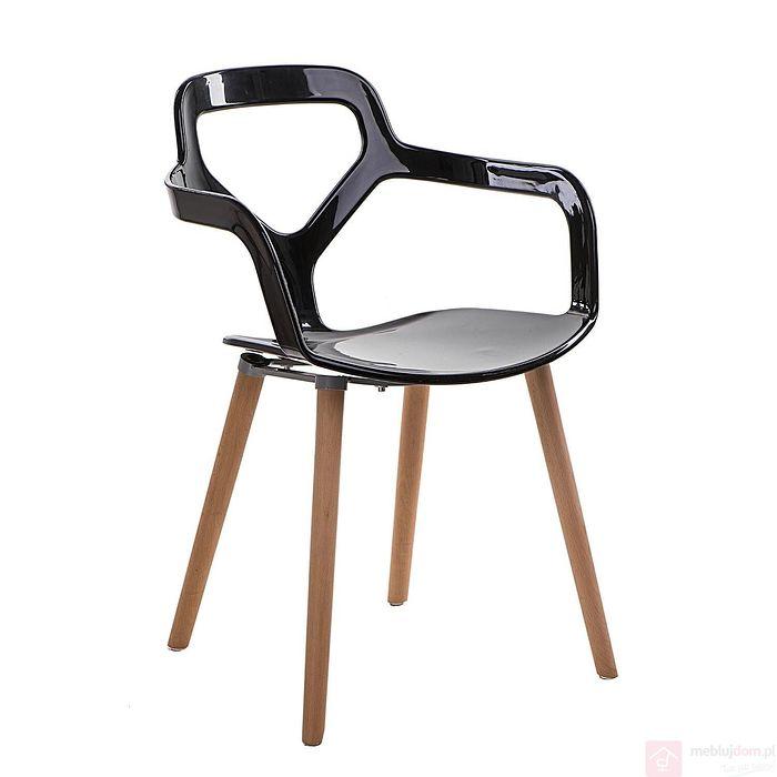 Krzesło NOX czarny