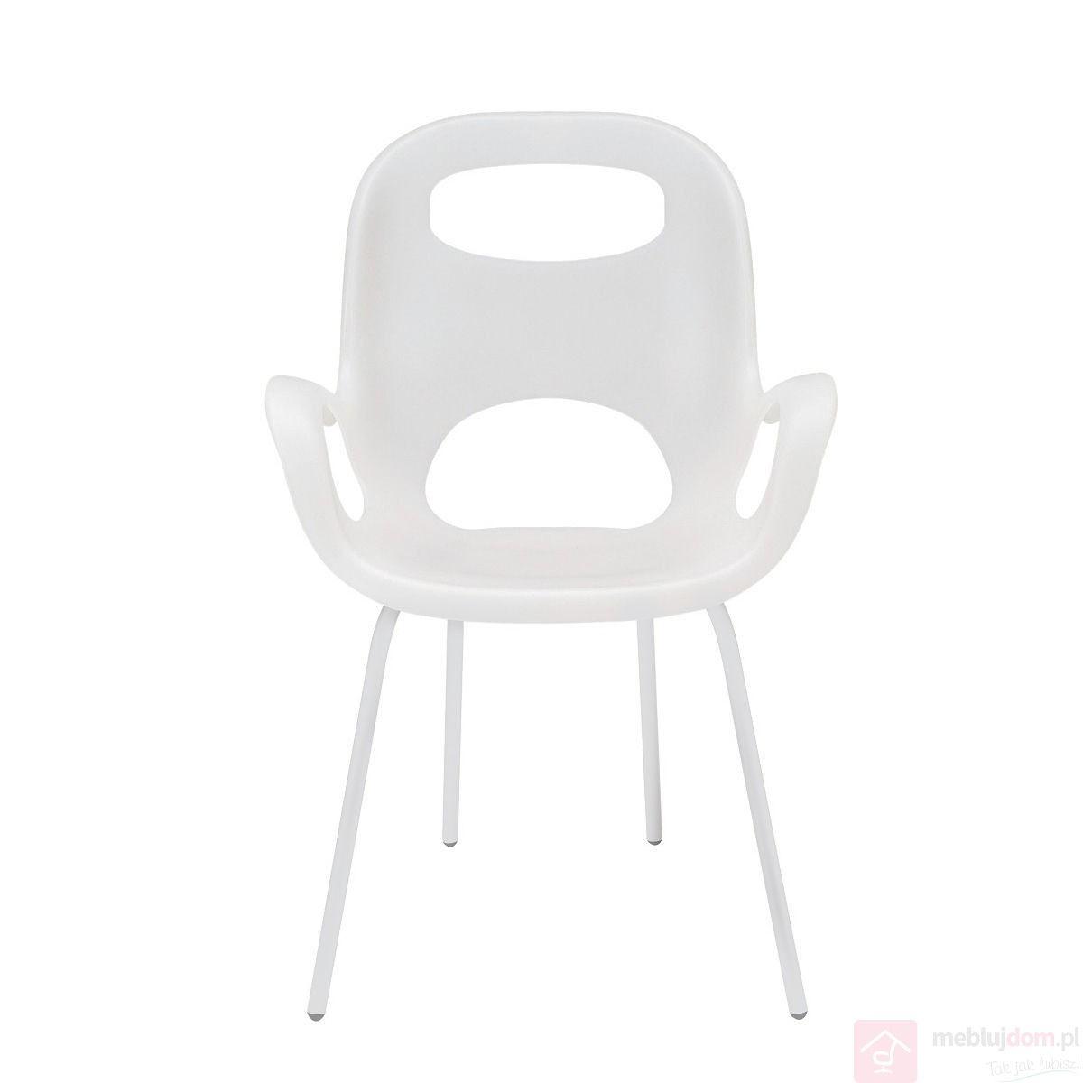 Krzesło OH UMBRA biały przód