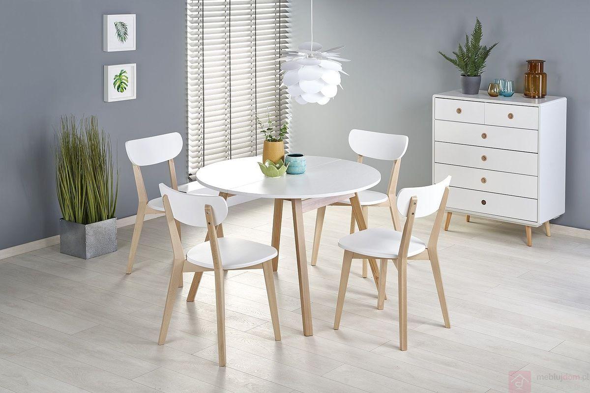 Stół rozkładany RUBEN Halmar złożony