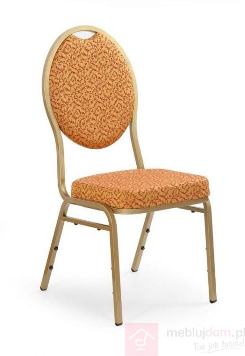 Krzesło K-67 Halmar Złoty