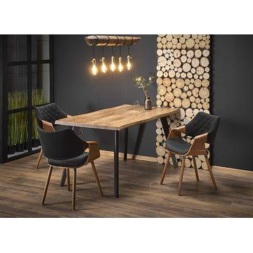 Stół rozkładany DICKSON Halmar z krzesłami K396- aranżacja