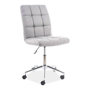 Fotel  bez podłokietników Q-020 Signal tkanina szara