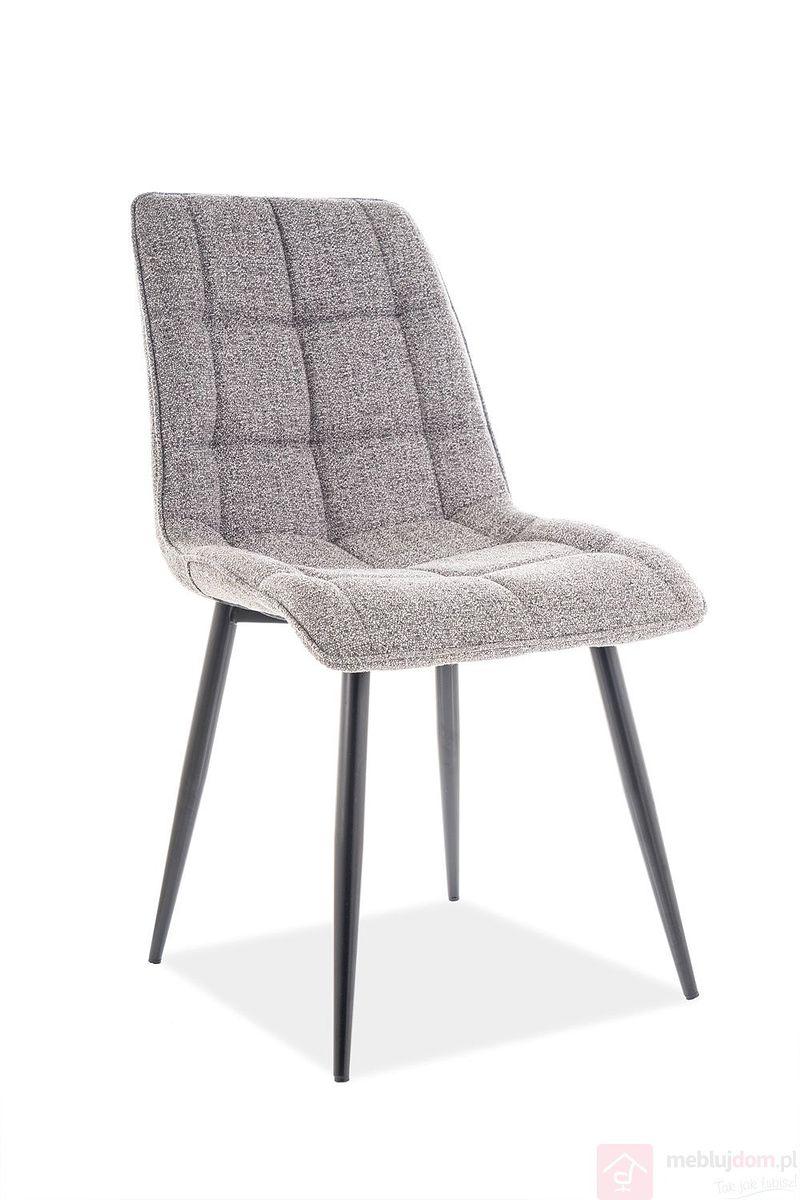 Krzesło CHIC SIgnal szary tap.144