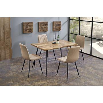 Stół LARSON Halmar z krzesłami K397