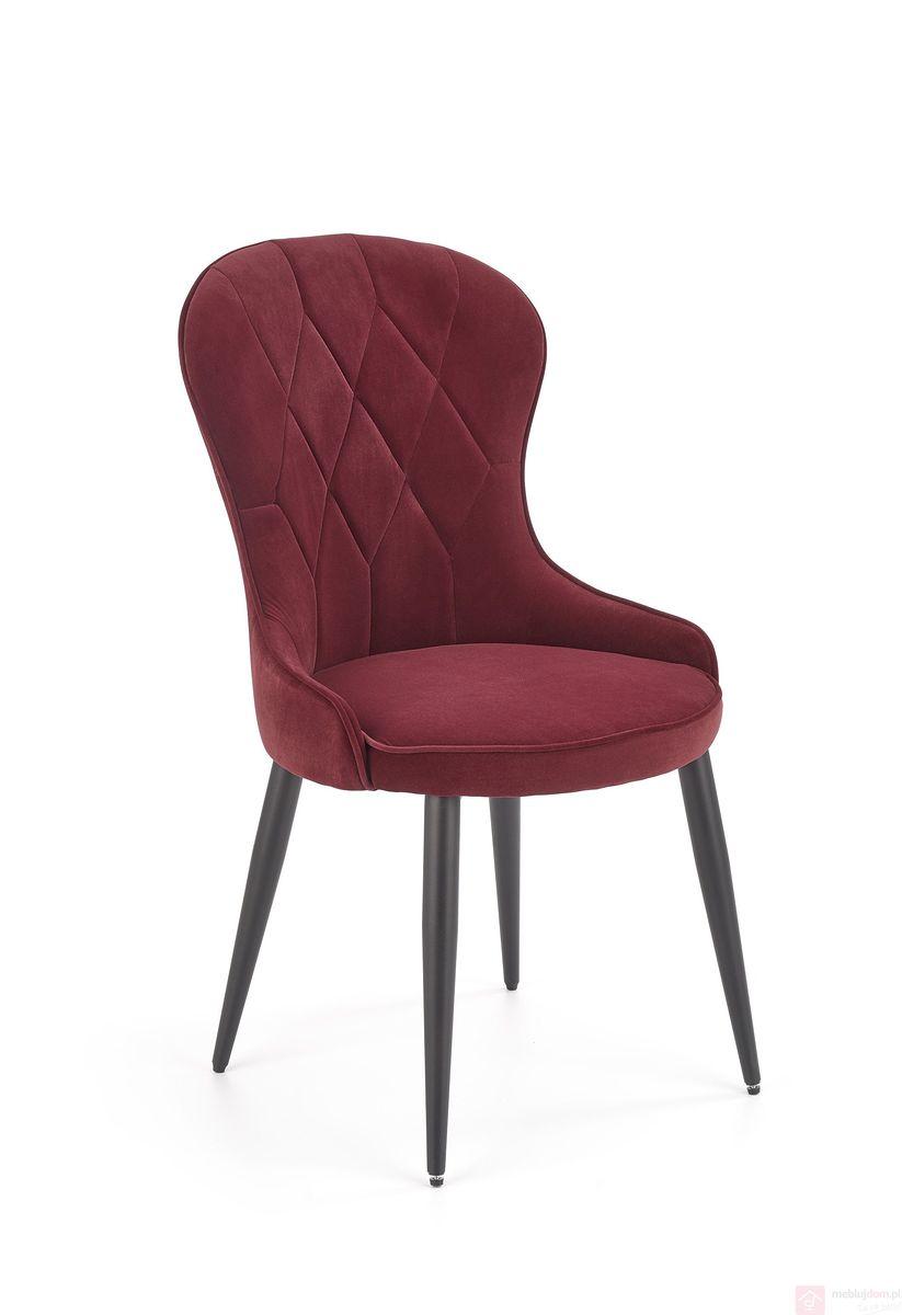 Krzesło K-366 Halmar bordowy
