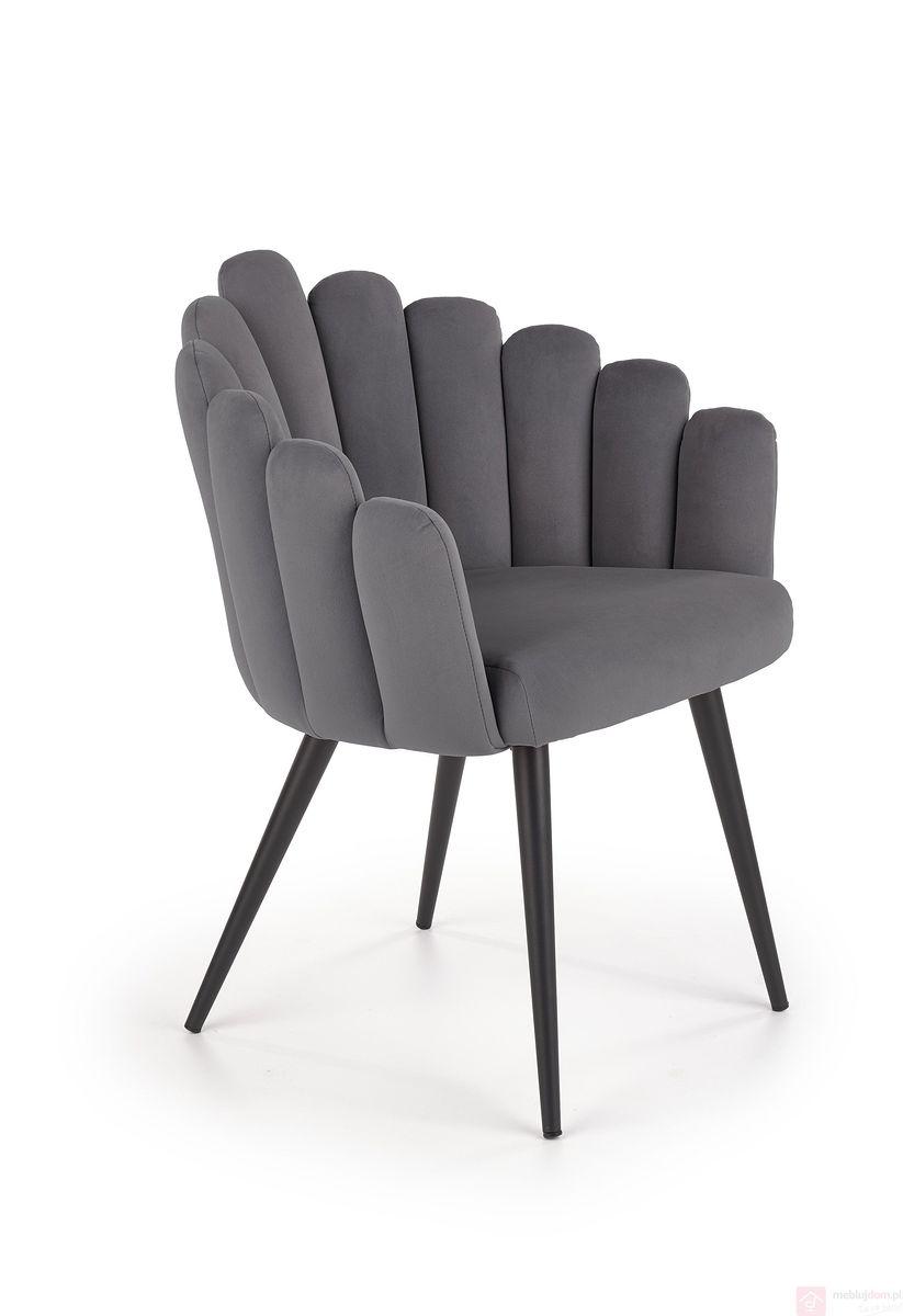 Krzesło K-410 Halmar popielaty