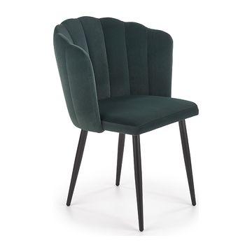 Krzesło K-386 Halmar ciemny zielony