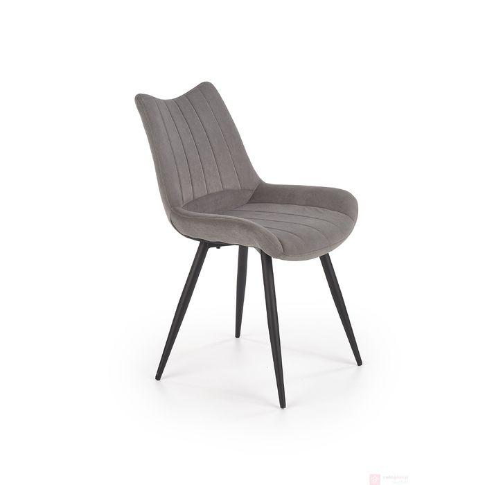 Krzesło K-388 Halmar popielaty