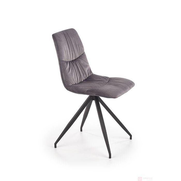 Krzesło K-382 Halmar popielaty