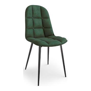 Krzesło K-417 Halmar ciemny zielony