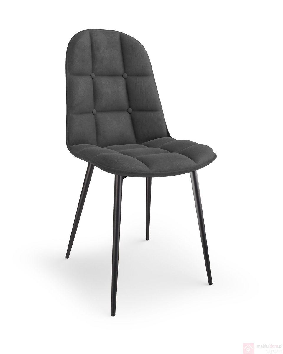 Krzesło K-417 Halmar popielaty