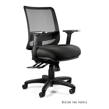 Fotel ergonomiczny SAGA PLUS M Unique bez zagłówka