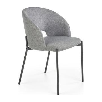 Krzesło K-373 Halmar popielaty