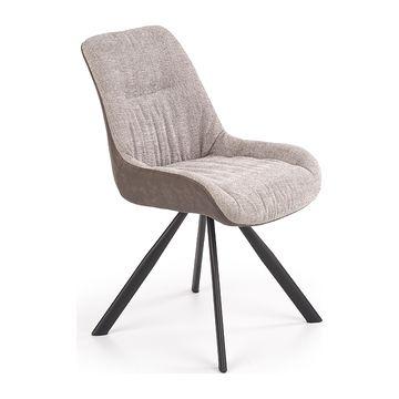 Krzesło K-393 Halmar popielato-brązowy