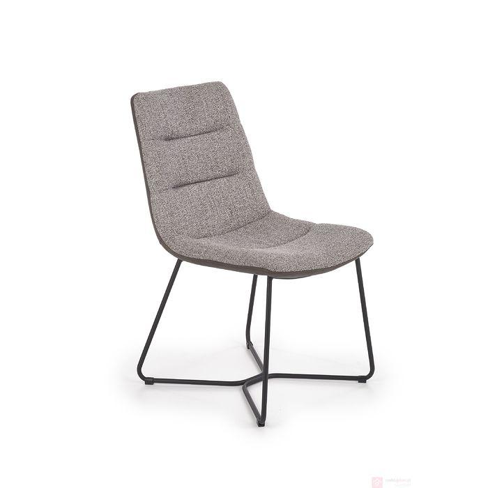 Krzesło K-403 Halmar popielaty