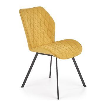 Krzesło K-360 Halmar musztardowy