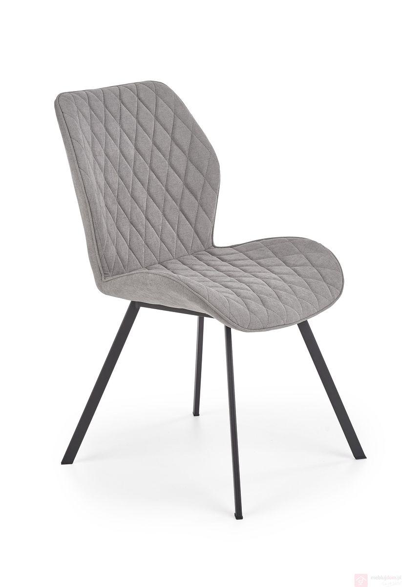 Krzesło K-360 Halmar szary