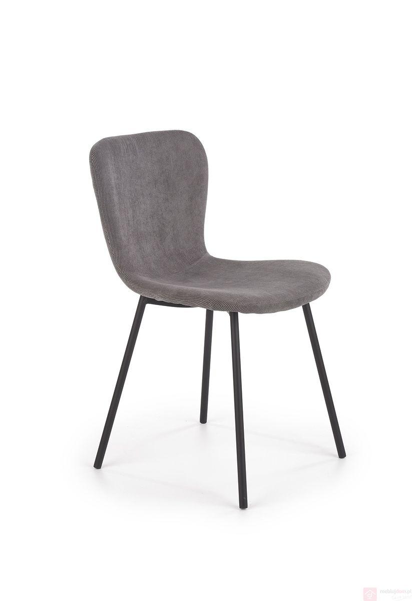 Krzesło K-414 Halmar szary