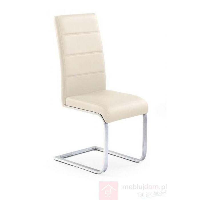 Krzesło K-85 Halmar Krem ciemny